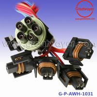深圳市雷格威科技有限公司 universal 6 circult automotive wiring harness hot rod gm holden ford dodge vills